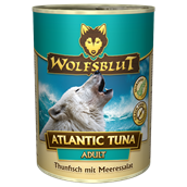 WolfsBlut Atlantic Tuna Adult dåsemad, 395g