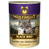 WolfsBlut Black Bird Adult dåsemad, 395g