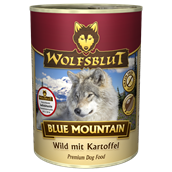 WolfsBlut Blue Mountain Adult dåsemad, 395g