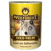 WolfsBlut Gold Fields Adult dåsemad, 395g