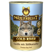 WolfsBlut Cold River Adult dåsemad, 395g