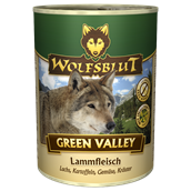 WolfsBlut Green Valley Adult dåsemad, 395g