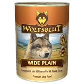 WolfsBlut Wide Plain Adult dåsemad, 395g